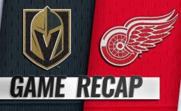 Вегас Голден Найтс — Детройт Ред Уингс: прогноз на хоккей. NHL 24.03.2019
