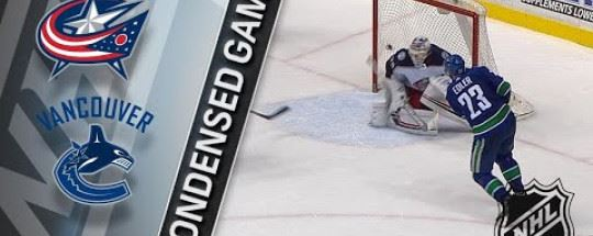 Ванкувер Кэнакс — Коламбус Блю Джекетс: прогноз на хоккей. NHL 25.03