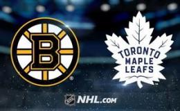 Бостон Брюинз — Торонто Мэйпл Лифс: прогноз на хоккей. NHL Play-off 14.04