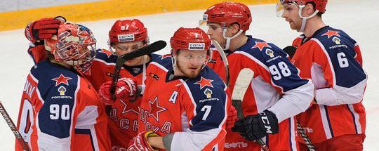 Прогноз на хоккей: ЦСКА — «Северсталь»