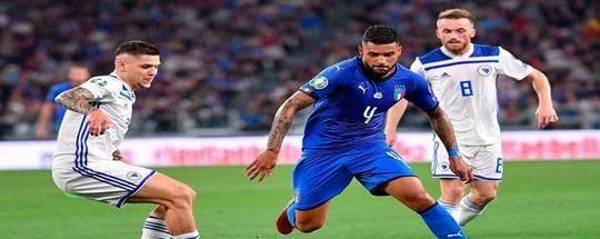 Прогноз на футбол: Италия - Босния и Герцеговина (04.09.2020)