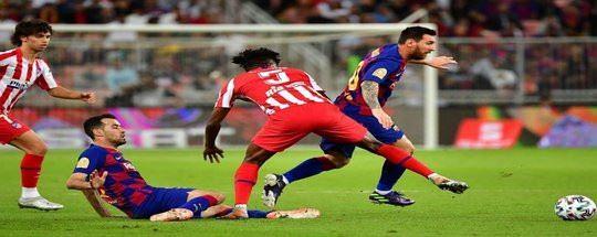 Прогноз на футбол: Атлетико Мадрид - Барселона (21.11.2020)