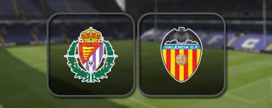Прогноз на футбол: Вальядолид - Валенсия  (10.01.2021)