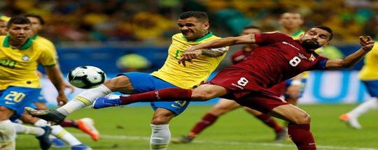 Прогноз на футбол: Бразилия - Венесуэла (13.06.2021)